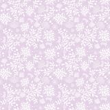 Purple underwater seaweed pattern texture. royalty free illustration