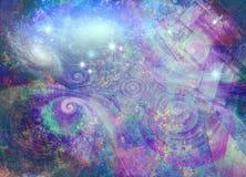 Purple universe Royalty Free Stock Photography