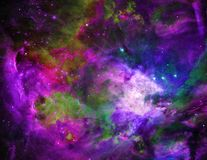 Purple Universe Stock Photos