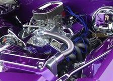 Purple van de douane stock afbeeldingen