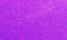 Purple van het Kerstmisnieuwjaar schittert achtergrond Stof van de vakantie de abstracte textuur Element, flits royalty-vrije stock foto