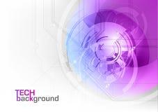 Purple van technologie Stock Afbeeldingen