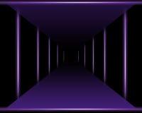 Purple Vanishing Point Stock Photos
