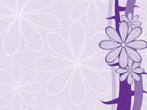 Purple vector background Stock Photography