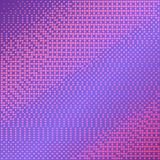 Purple vector background with halftone effect. Smooth pink and violet gradient. Purple vector background with halftone effect. Smooth pink and violet square dots Stock Photo