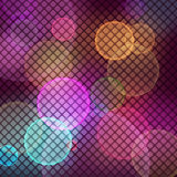 Purple vector background horizontal mosaic with light spots Royalty Free Stock Photography