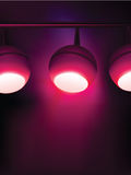 Purple vector lights Stock Photos