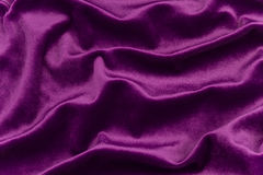 Purple Velvet Fabric Royalty Free Stock Photos