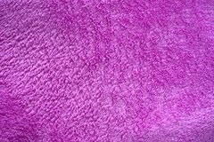 Purple velvet texture Stock Photography