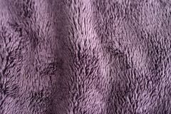 Purple velvet texture Stock Image