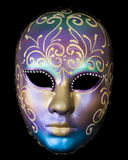 Purple Venice mask Stock Photography
