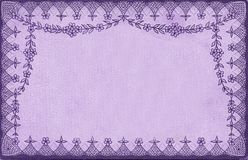 Purple Vintage Curtain Paper Stock Photography