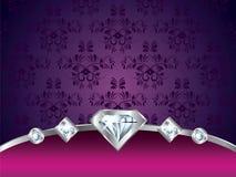 Purple vintage luxury  background Stock Images