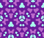 Purple violet blue color abstract geometric seamless pattern. Vector purple violet blue color abstract geometric seamless pattern Royalty Free Stock Photography