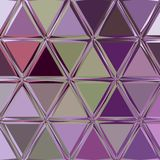 Purple violet low polygonal triangles abstract background. Purple violet low polygonal triangles background Royalty Free Stock Images