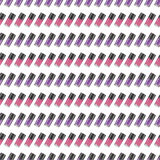 Purple-violet nail polishes seamless pattern Stock Photography