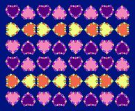 Purple, Violet, Pattern, Magenta stock image