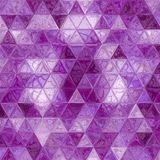 Purple violet triangles abstract background. Violet triangles abstract background for banner or web Royalty Free Stock Images