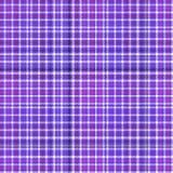 Purple violet upholstery geometric rectangular plaid design Royalty Free Stock Photos