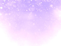 Purple violet and white abstract bokeh background and texture Royalty Free Stock Photography