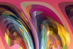 Purple pink vivid geometries abstract background, abstract forms and geometries. Purple vivid vivid lines, sparkling abstract background. Colorful texture and stock illustration