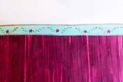 Purple wall 2 Royalty Free Stock Image