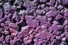 Purple wall Royalty Free Stock Photos