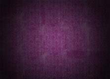 Purple wallpaper illustration with retro victorian texture Royalty Free Stock Photography