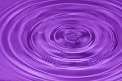 Purple water ripple background Stock Image