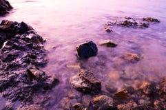 Purple water Stock Photo