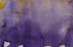 Purple watercolor abstraction Royalty Free Stock Images
