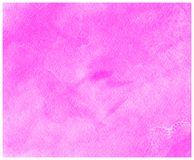 Purple watercolor paper background. Abstract painted illustration. Splash and blots for text or design. Purple paper texture with watercolor paint. Background stock images