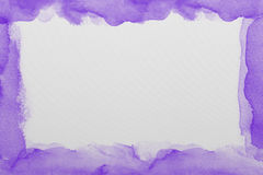 Purple  watercolor paper texture Stock Photo