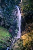 The Purple waterfall royalty free stock image