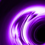 Purple waterfall or smaragd effect Royalty Free Stock Photo