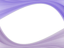 Purple waves. On white background. Abstract illustration Stock Images