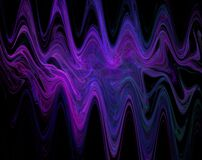 purple waves Royalty Free Stock Image