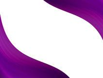 Purple waves Royalty Free Stock Photography