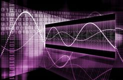 Purple Web Internet Online Growth Stock Photos