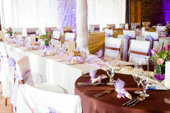 Purple wedding Royalty Free Stock Photography