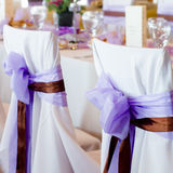 Purple wedding Royalty Free Stock Images