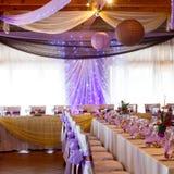 Purple wedding Royalty Free Stock Photography