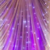 Purple wedding Stock Images