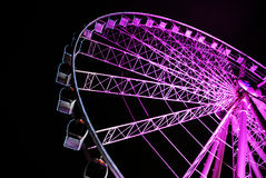 Purple wheel Stock Photography