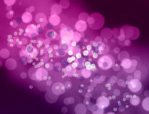Purple and white bokeh. Stock Images