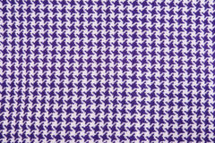 Purple, white cloth. As background texture Royalty Free Stock Image