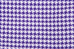 Purple, white cloth Stock Images
