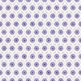 Purple and White Flower Repeat Pattern Background Stock Photo