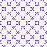 Purple and White Flower Repeat Pattern Background Royalty Free Stock Images