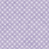 Purple and White Interlocking Circles Tiles Pattern Repeat Backg Royalty Free Stock Photography